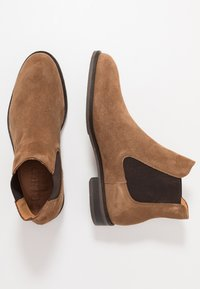 Selected Homme - SLHLOUIS CHELSEA BOOT - Stiefelette - cognac - 1