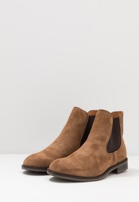 Selected Homme - SLHLOUIS CHELSEA BOOT - Stiefelette - cognac - 2