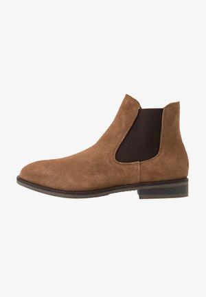 SLHLOUIS CHELSEA BOOT - Classic ankle boots - cognac