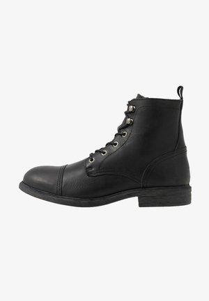 SLHTERREL BOOT - Snørestøvletter - black