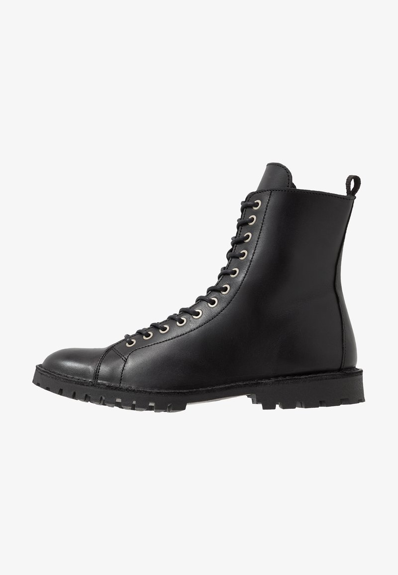 Selected Homme - SLHRICHARD BOOT - Lace-up ankle boots - black