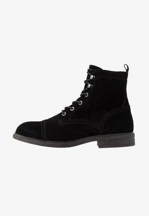 SLHTERREL WARM BOOT  - Snörstövletter - black