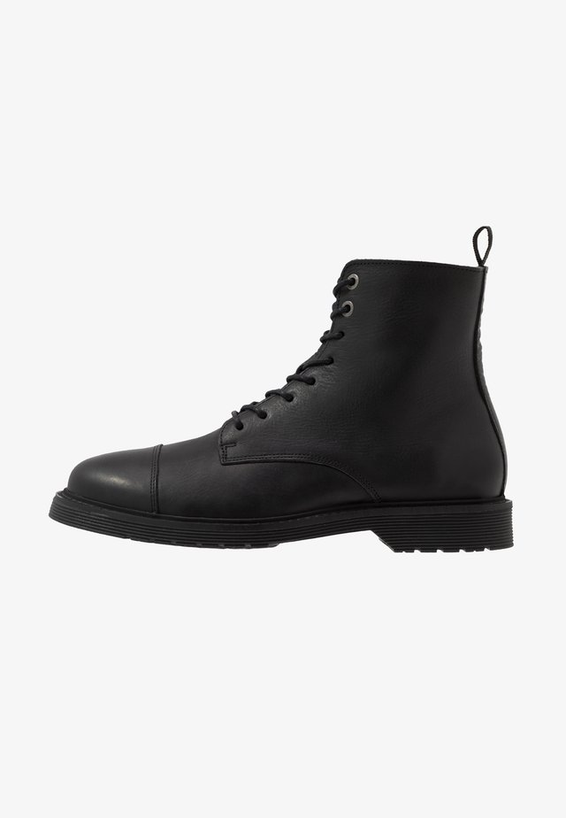 SLHTONY BOOT - Lace-up ankle boots - black