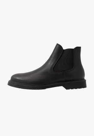 SLHTONY CHELSEA BOOT - Kotníkové boty - black