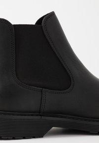 Selected Homme - SLHTONY CHELSEA BOOT - Kotníkové boty - black - 5