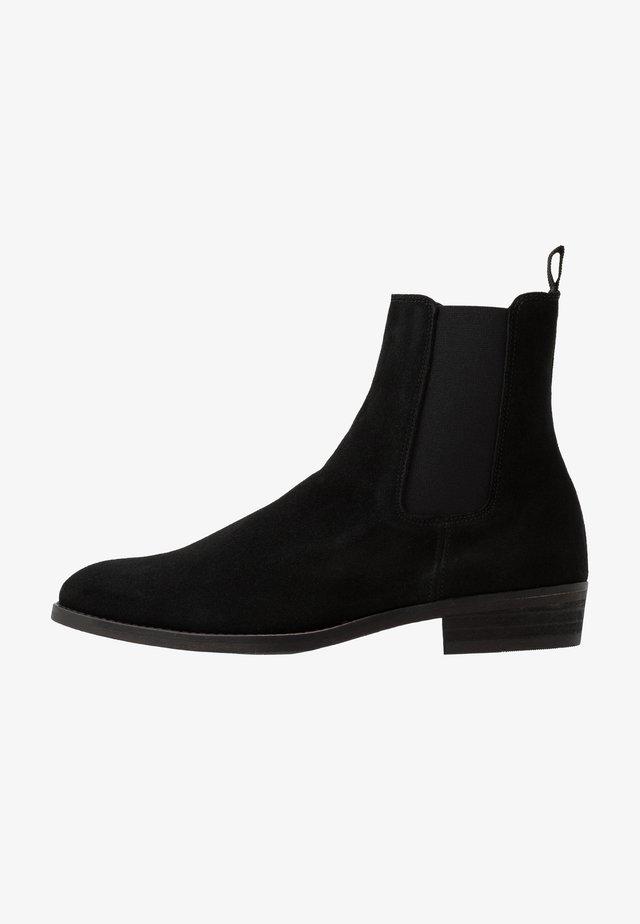 SLHJOHN BOOT  - Stövletter - black