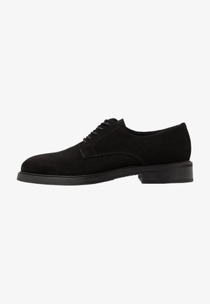 SLHFILIP DERBY SHOE - Smart lace-ups - black