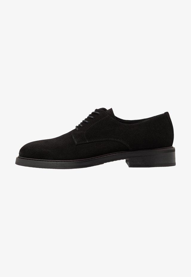 SLHFILIP DERBY SHOE - Smart lace-ups - black