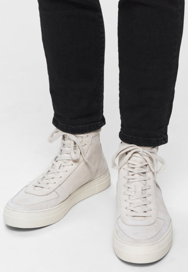 Selected Homme - Baskets montantes - white