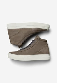 Selected Homme - Baskets montantes - dark grey - 1