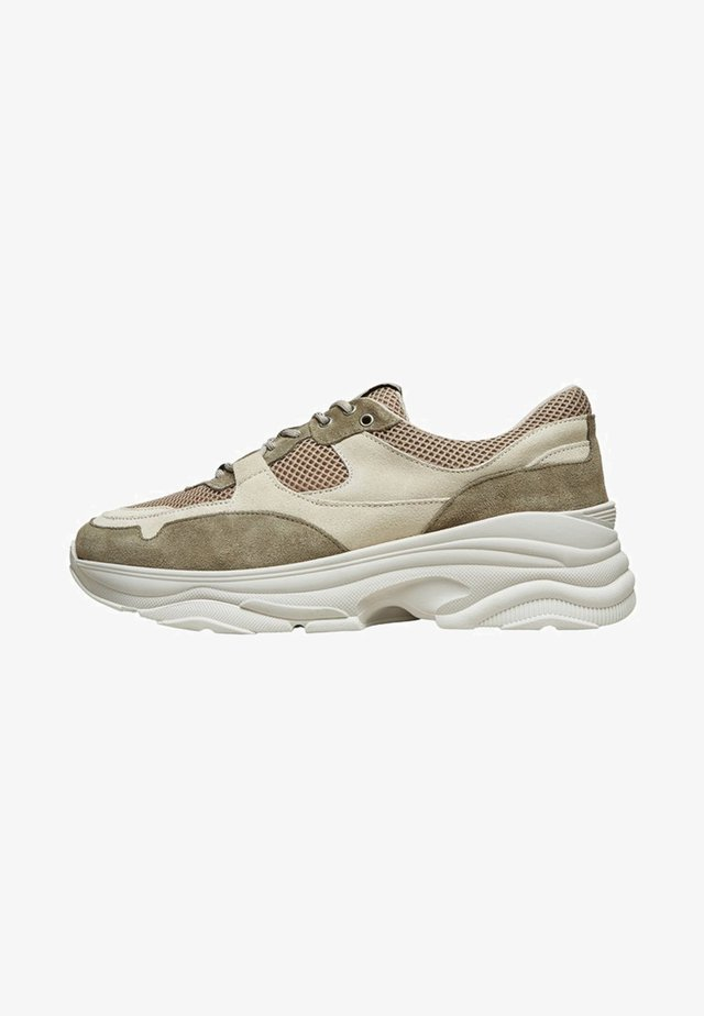 SLHGAVIN  - Sneakers - deep lichen green