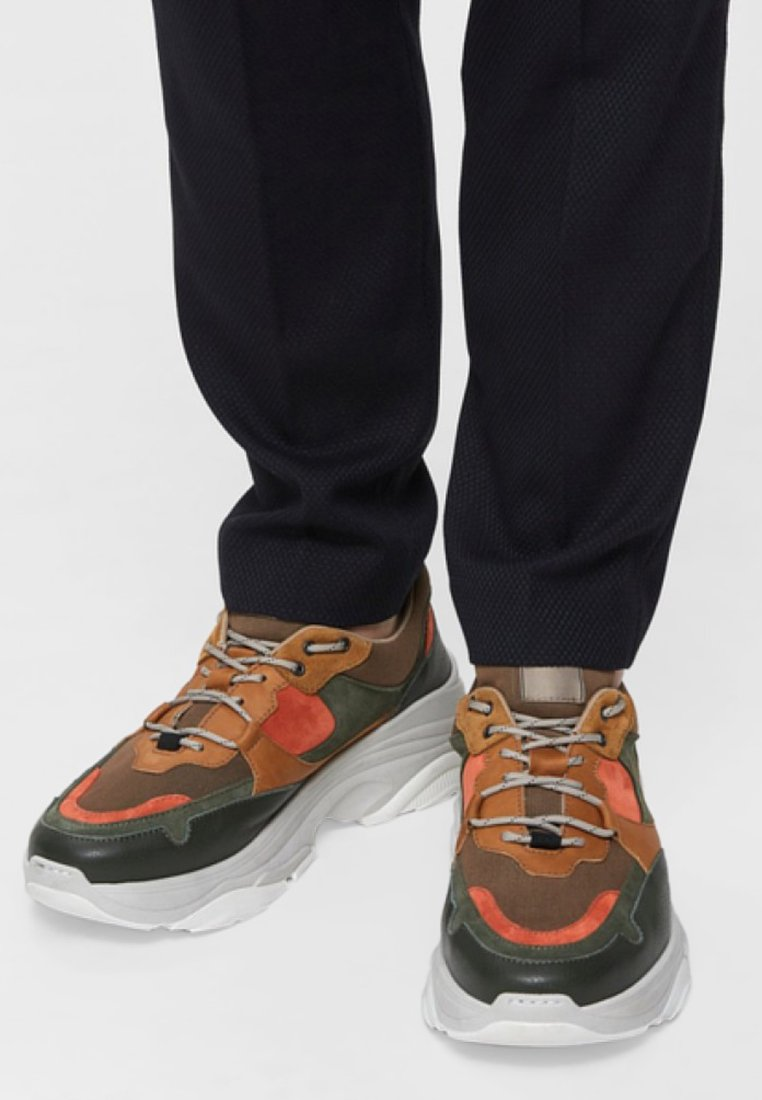 Selected Homme - SLHGAVIN  - Sneaker low - picante