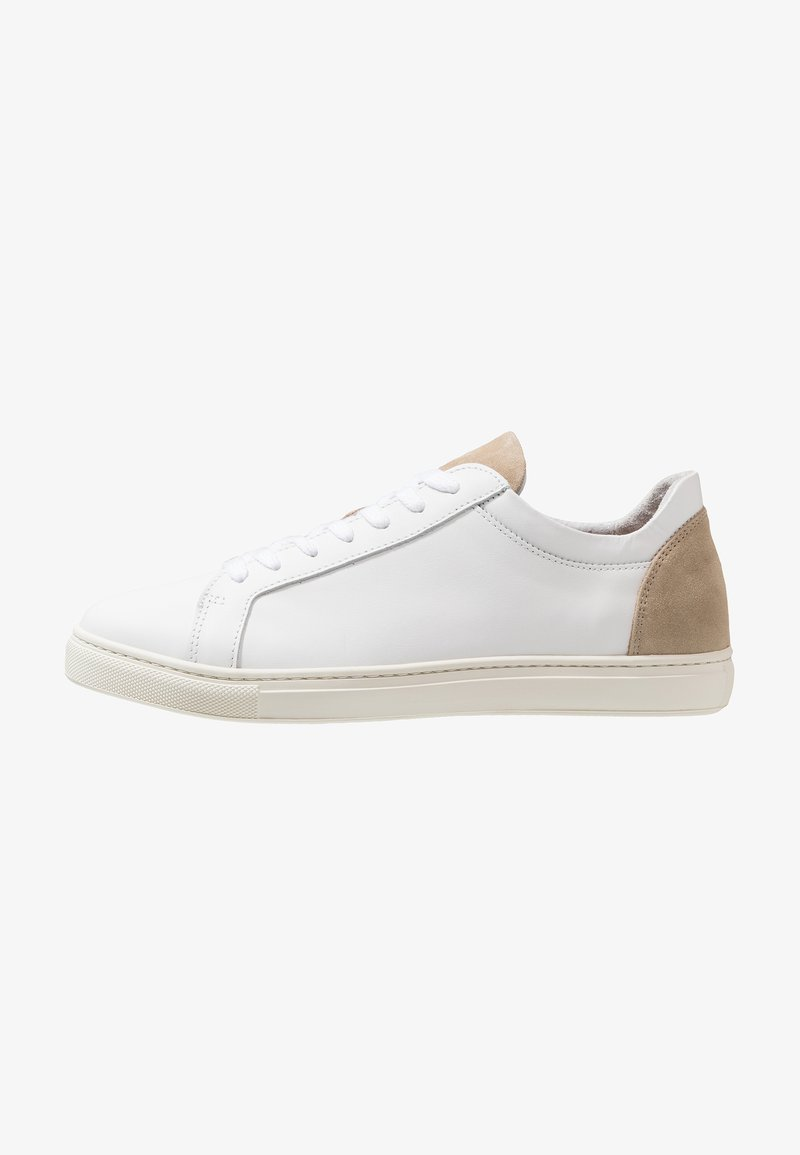Selected Homme - SLHDAVID CONTRAST TRAINER - Sneakers basse - white