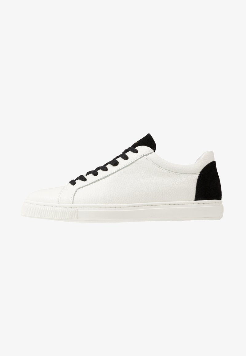 Selected Homme - SLHDAVID CONTRAST TRAINER - Sneakers - black