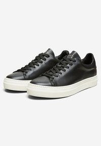 Selected Homme - Sneakersy niskie - black - 2