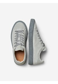 Selected Homme - Baskets basses - gray - 1