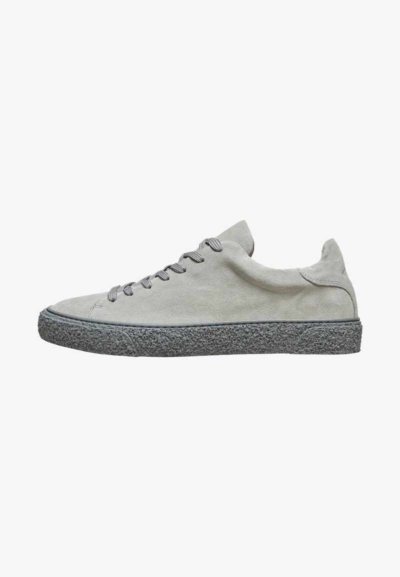 Selected Homme - Baskets basses - gray