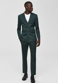 Selected Homme - Suit trousers - medium green - 0