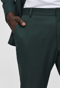 Selected Homme - Suit trousers - medium green - 4