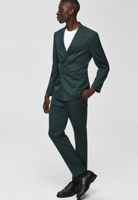 Selected Homme - Suit trousers - medium green - 1