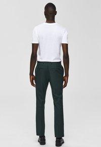 Selected Homme - Suit trousers - medium green - 2