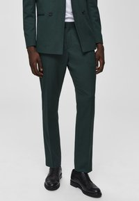 Selected Homme - Suit trousers - medium green - 3