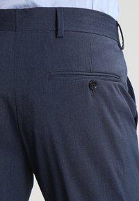 Selected Homme - SHDNEWONE MYLOLOGAN SLIM FIT - Oblek - medium blue melange - 7