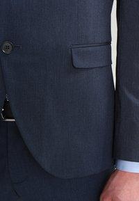 Selected Homme - SHDNEWONE MYLOLOGAN SLIM FIT - Oblek - medium blue melange - 6