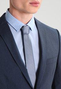 Selected Homme - SHDNEWONE MYLOLOGAN SLIM FIT - Oblek - medium blue melange - 5