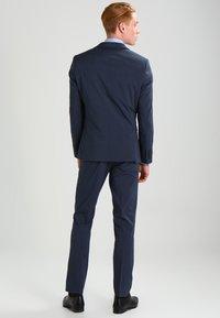 Selected Homme - SHDNEWONE MYLOLOGAN SLIM FIT - Oblek - medium blue melange - 2
