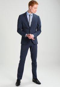 Selected Homme - SHDNEWONE MYLOLOGAN SLIM FIT - Oblek - medium blue melange - 1