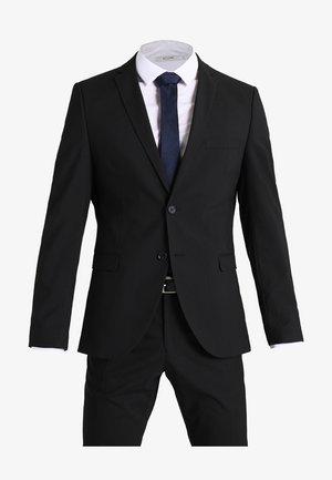SHDNEWONE MYLOLOGAN SLIM FIT - Kostuum - black