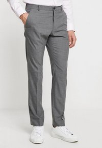 Selected Homme - SHDNEWONE MYLOLOGAN SLIM FIT - Oblek - medium grey melange - 4