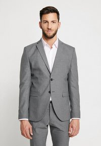 Selected Homme - SHDNEWONE MYLOLOGAN SLIM FIT - Oblek - medium grey melange - 2