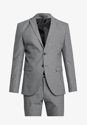 SHDNEWONE MYLOLOGAN SLIM FIT - Suit - medium grey melange