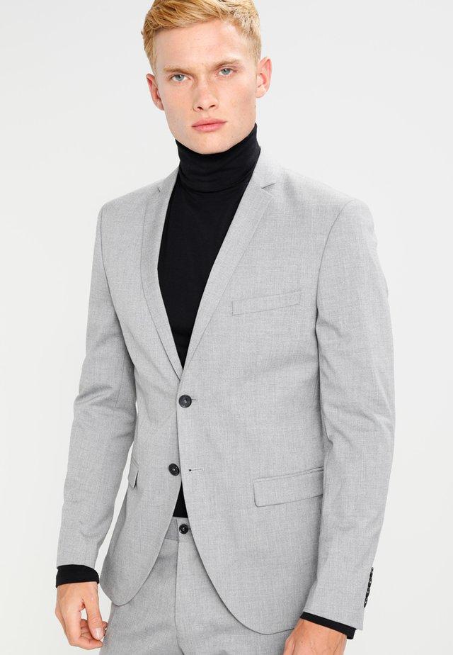 SHDNEWONE MYLOLOGAN SLIM FIT - Oblek - light grey melange