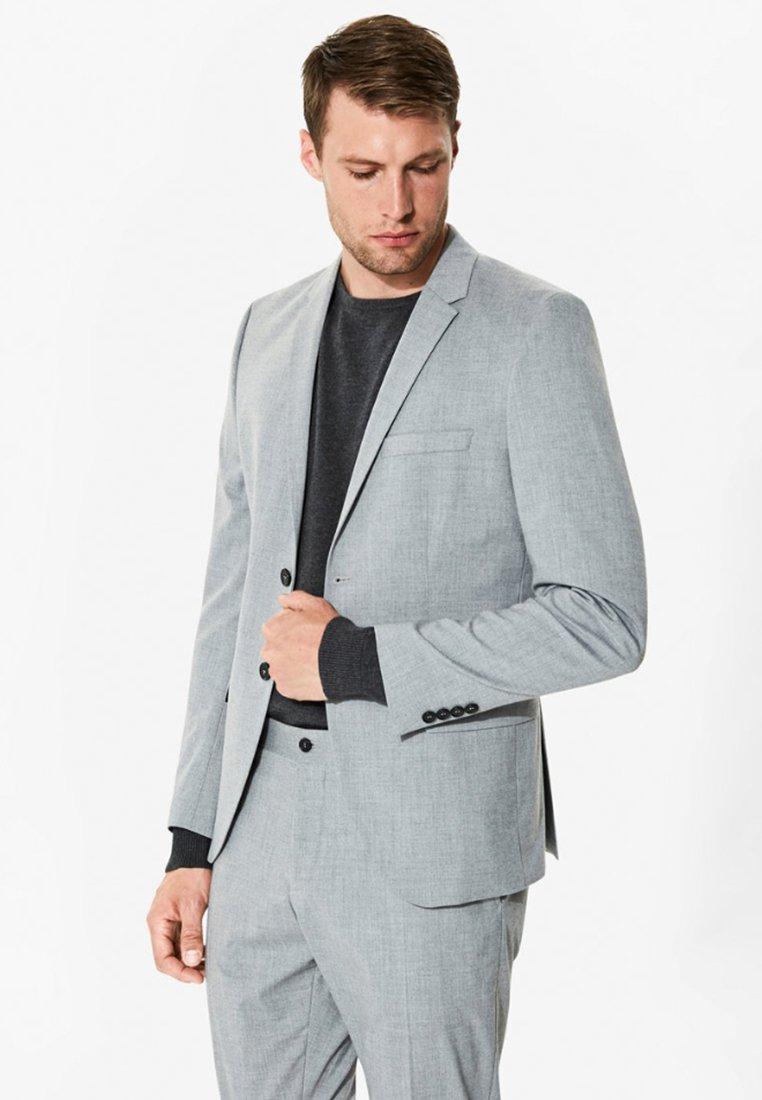 Selected Homme - Suit jacket - light grey melange