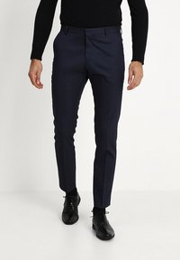 Selected Homme - SLHSLIM FIT ACECHACO SUIT - Traje - dark navy - 4