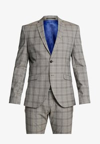 Selected Homme - SLHSLIM RICLOGAN CHECK SUIT - Costume - sand - 11