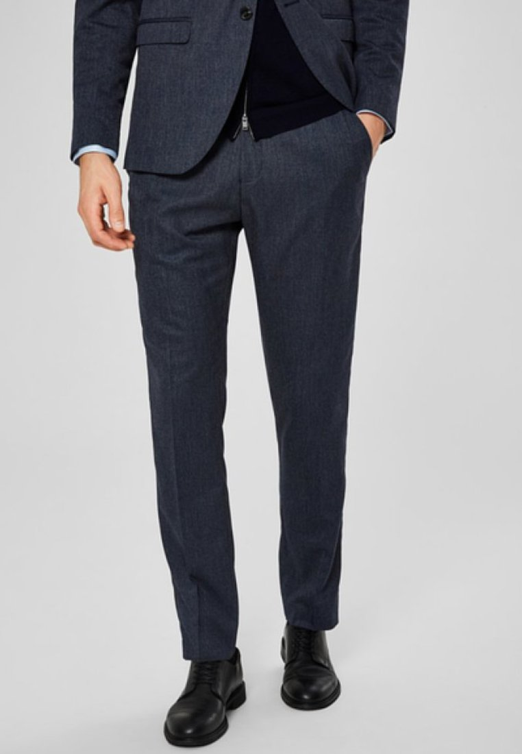 Selected Homme - SLIM FIT - Pantalon de costume - dark navy