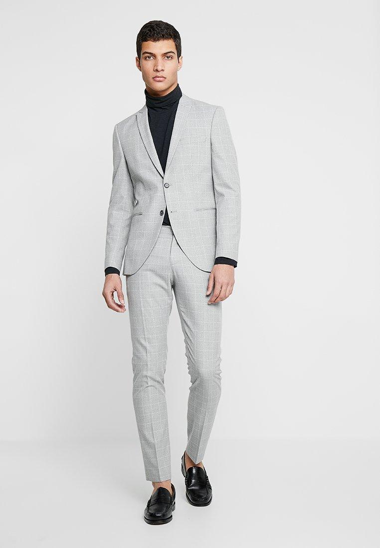 Selected Homme - SLHSLIM PEAK GILLY SUIT - Anzug - light grey melange