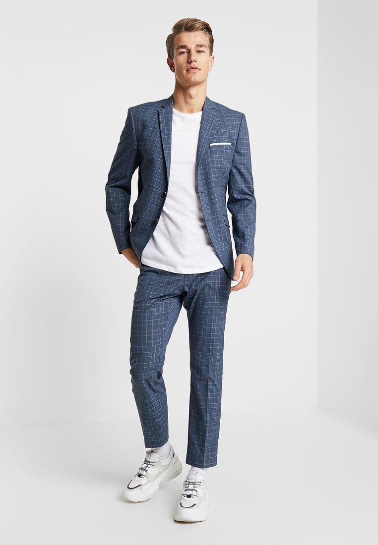 Selected Homme - SLHSLIM SELSUM CROP - Anzug - navy blue