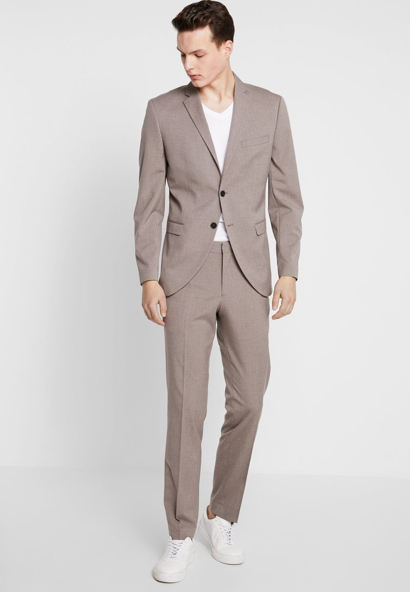 Selected Homme - SLHSLIM MYLOLOGAN SUIT - Oblek - sand