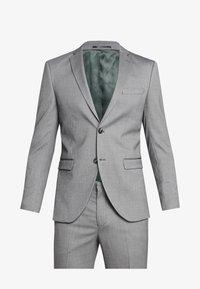 Selected Homme - SLHSLIM MYLOLOGAN SUIT - Oblek - dark grey melange - 10