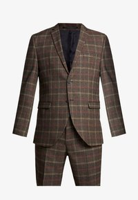 Selected Homme - SLHSLIM MYLORANK SUIT  - Oblek - camel/red - 8