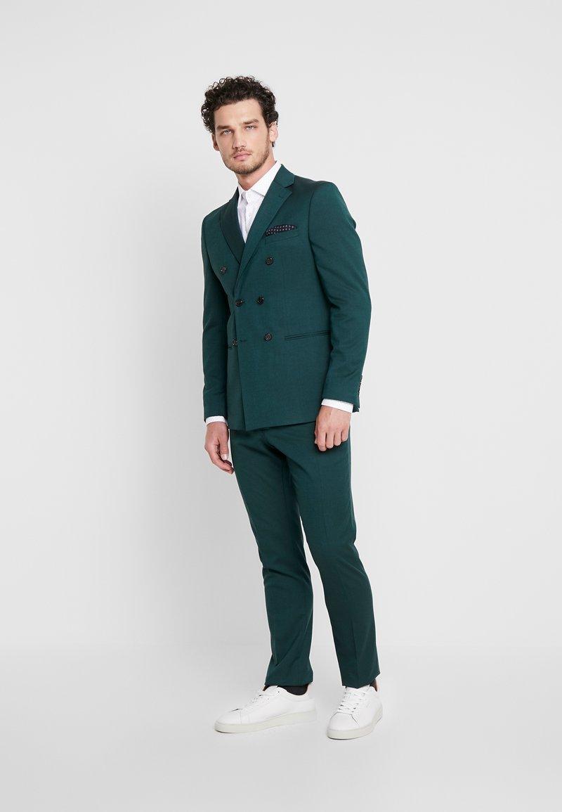 Selected Homme - SLHSLIM DAXLOGAN  - Completo - medium green melange