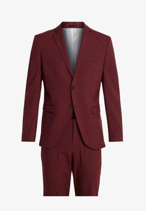 SLHSLIM MYLOLOGAN SUIT - Costume - burgundy