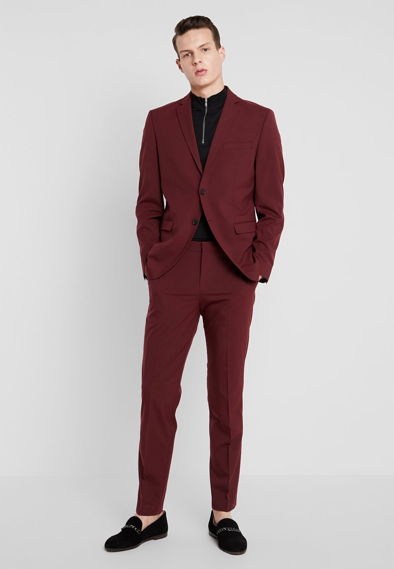 Selected Homme - SLHSLIM MYLOLOGAN SUIT - Costume - burgundy