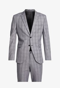 Selected Homme - SLHSLIM MYLOBEND CHECK SUIT - Oblek - grey - 10