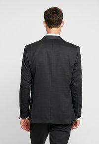 Selected Homme - SLHSLIM REX TUX SUIT - Costume - dark grey melange - 3